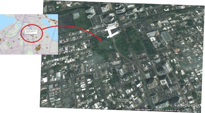 Mapa de localización Parque Gándara