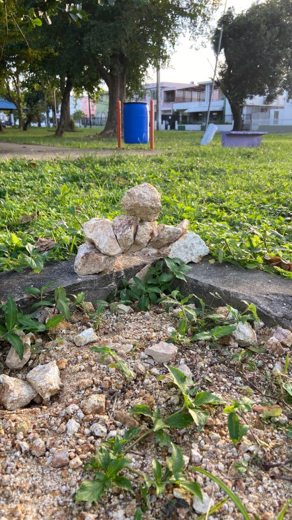 Figuras de Martin Aris, Parque Gandara