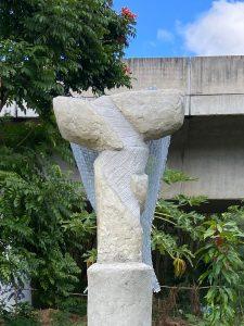 Magnanimidad del Angel en el Parque Gándara, en Hato Rey.