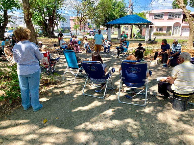 Reunión de Barrio Parque Gándara